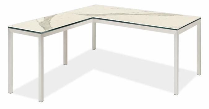 Portica L-Shaped Desk 60w 30d with 36w 18d Return
