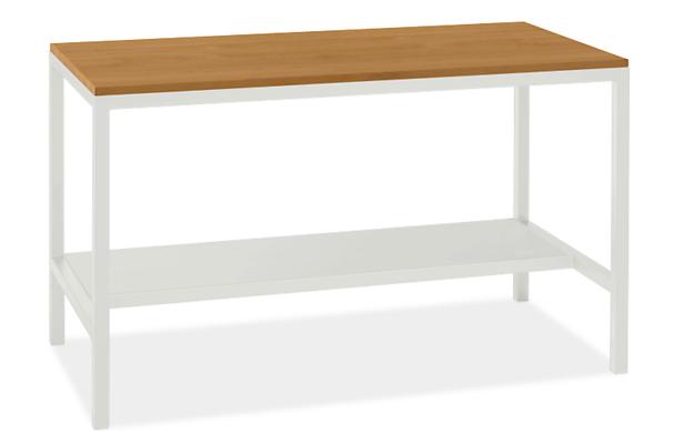 "Pratt 60w 30d 35h Narrow Shelf Counter Table with 1.5"" Leg"