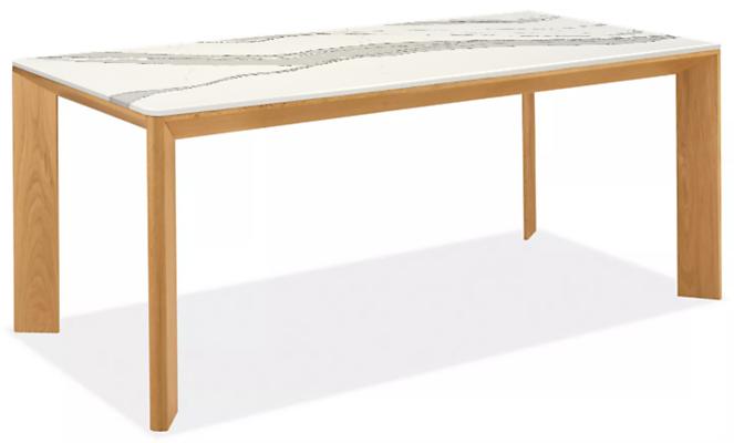 Pren 72w 36d 30h Table with Cambria Quartz Top