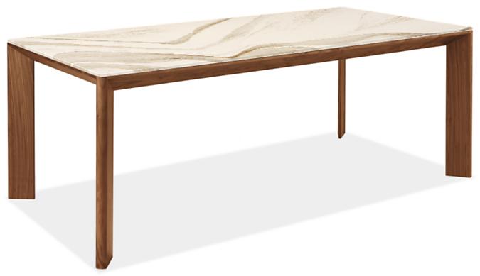 Pren 80w 40d 30h Table with Cambria Quartz Top