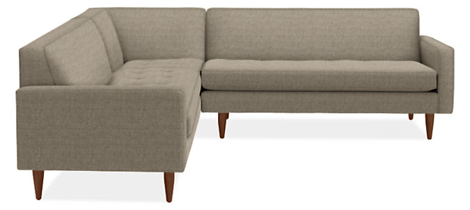 """Reese 98x98"""" Three-Piece Sectional with Corner"""