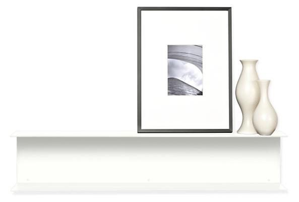 Staple 35w 6d 7h Double Wall Shelf