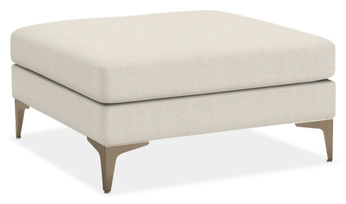 Sterling 34w 34d 18h Square Ottoman