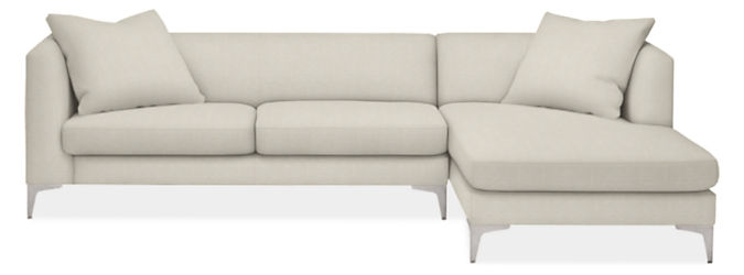 """Sterling 110"""" Sofa with Right-Arm Chaise"""