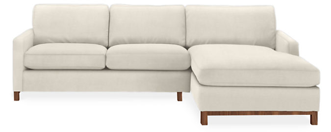 """Stevens 106"""" Sofa with Right-Arm Chaise"""