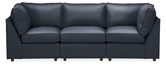 "York 101"" Three-Piece Modular Sofa"