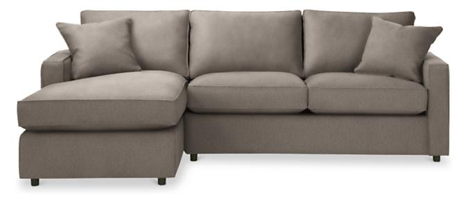 "York 95"" Sofa with Left-Arm Chaise"