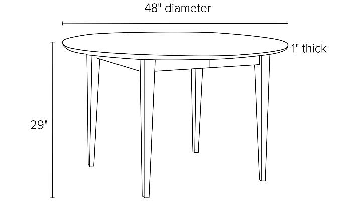 Illustration of Adams round table