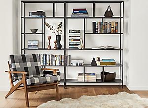 Modern Custom Bookcases Room Board