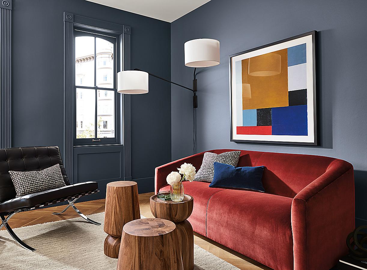 Ada Sofa and Theo Van Doesburg Art in Colors