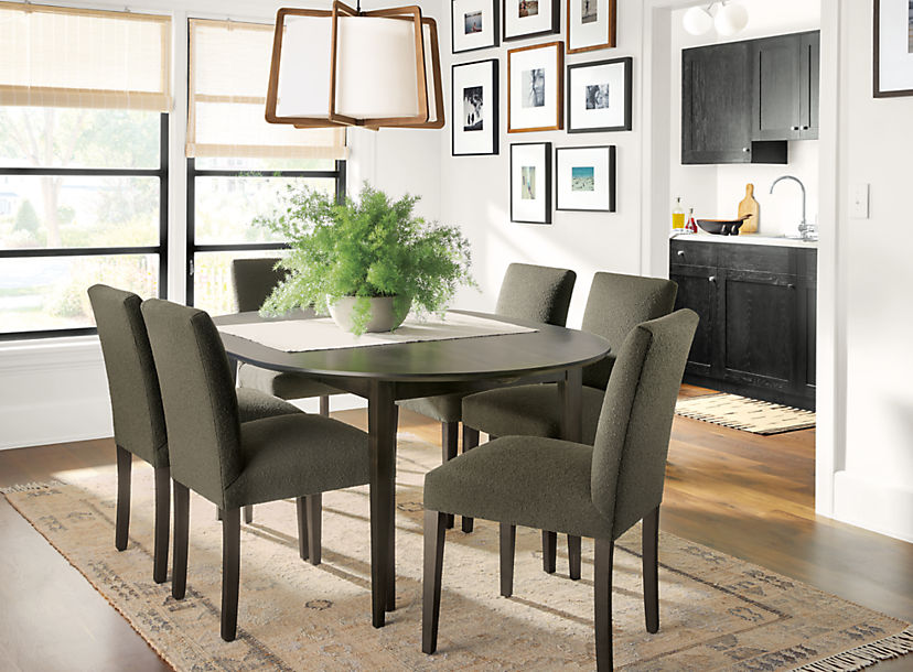 Adams Extension Table with Peyton Chairs,Farmhouse