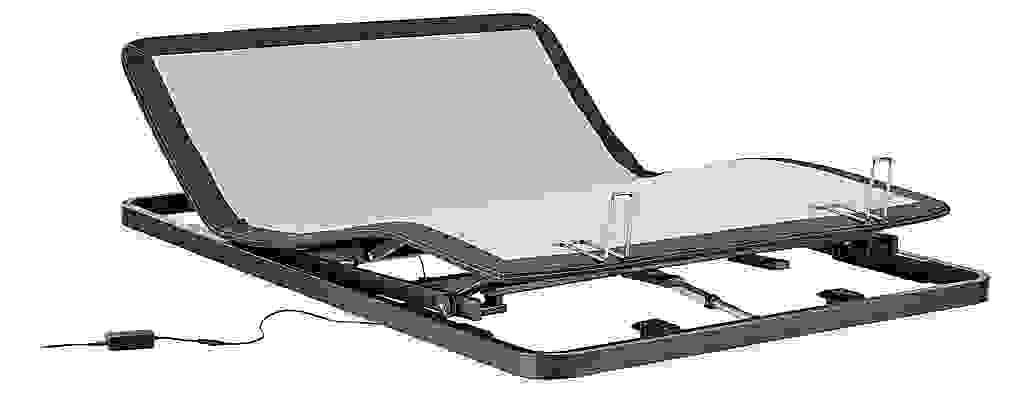 Detail of queen adjustable mattress base