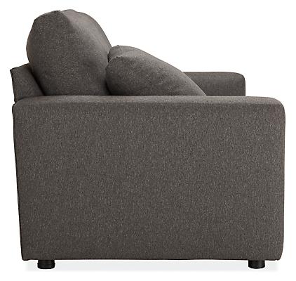 Side view of Aldrich sleeper sofa