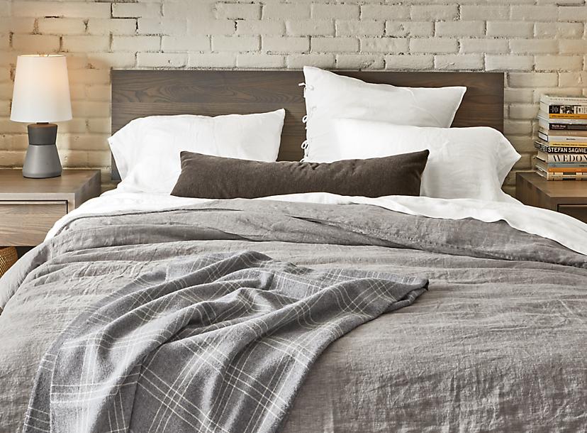 Relaxed Linen Bedding