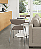 """Aria 27"""" Round Table with Wolfgang Chairs"""