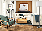 """Astaire 110x110"""" Three-Piece Curved Sectional"""