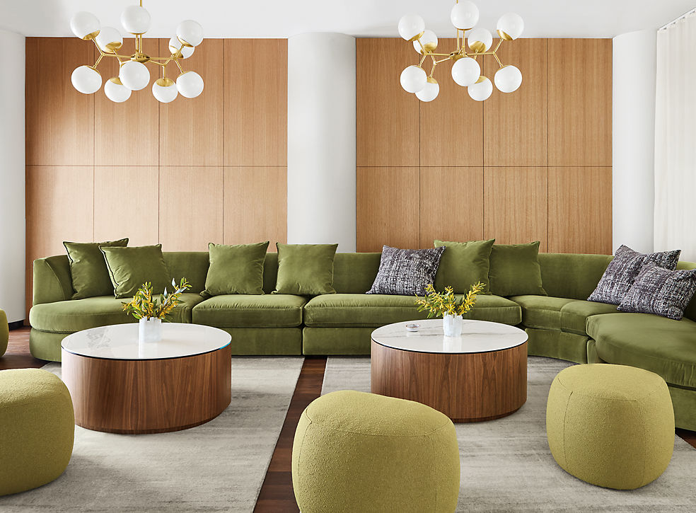 Astaire Modular Sofas in Lobby