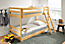 Detail of Basic twin bunk mattress and Basic twin mattress in bunk bed