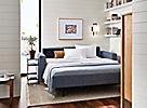 Berin Sleeper Sofa in Small Space Living Room