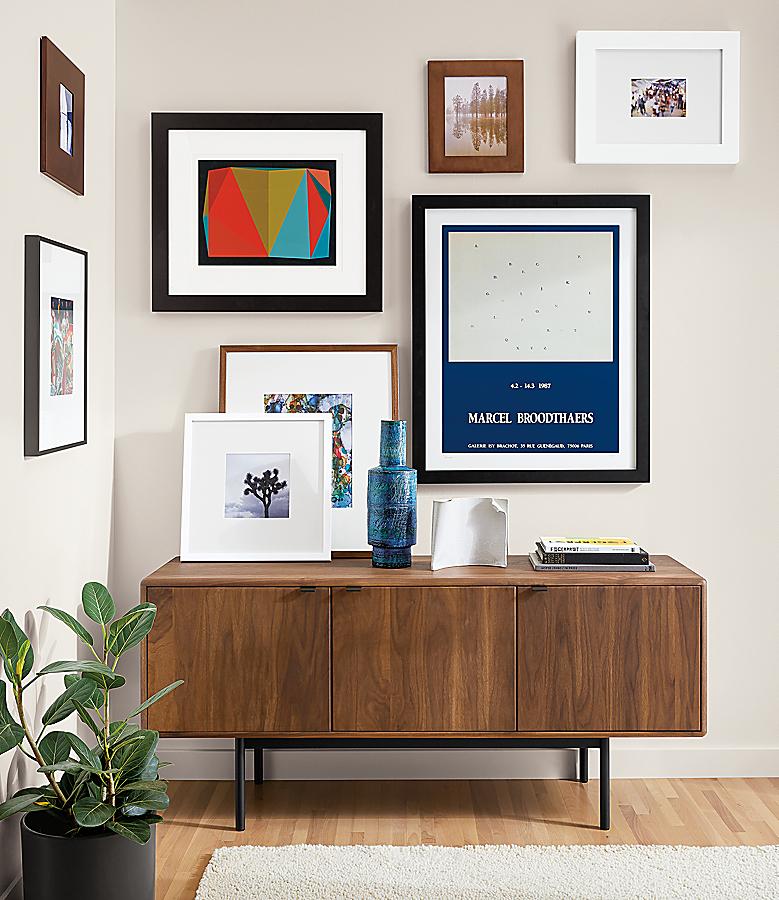 Hensley Media Cabinet in Living Room