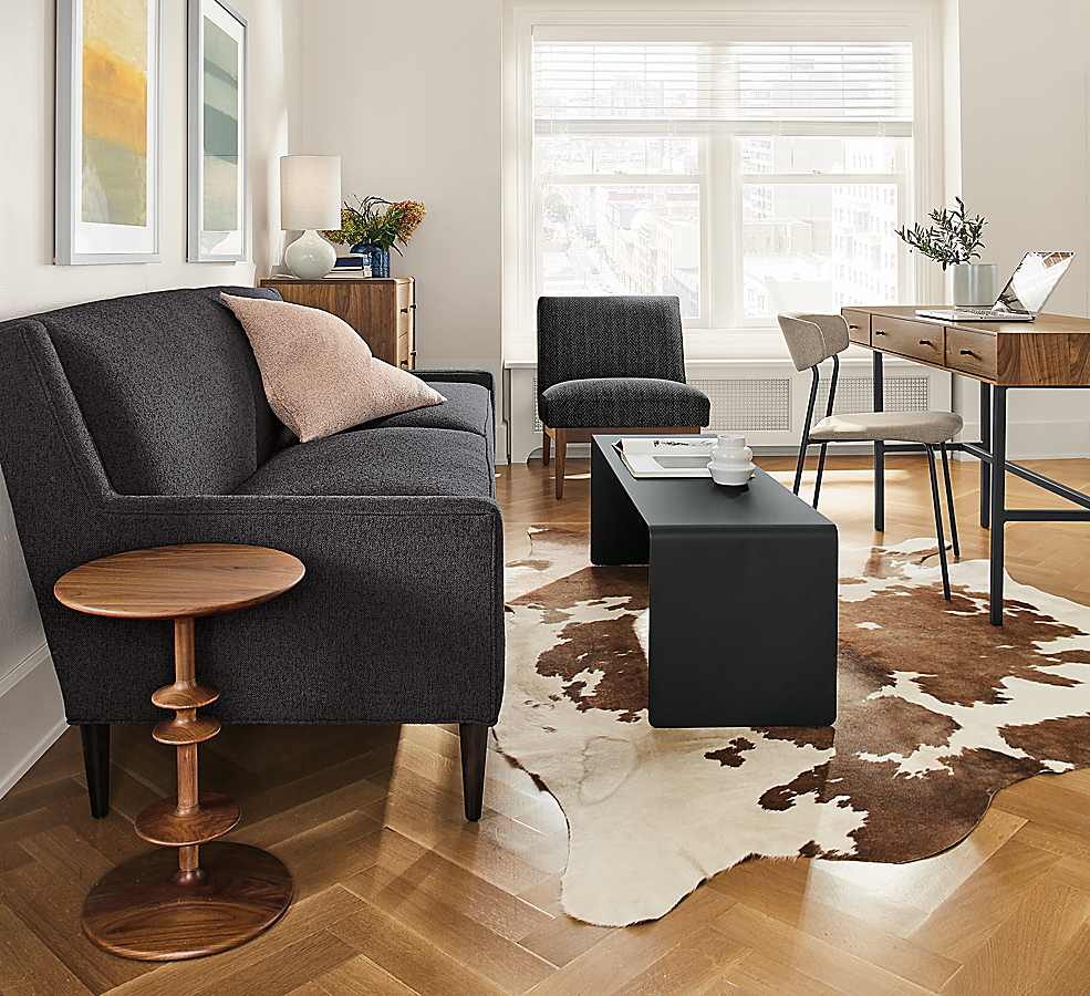 Cooper Bench and Parks Round End Table