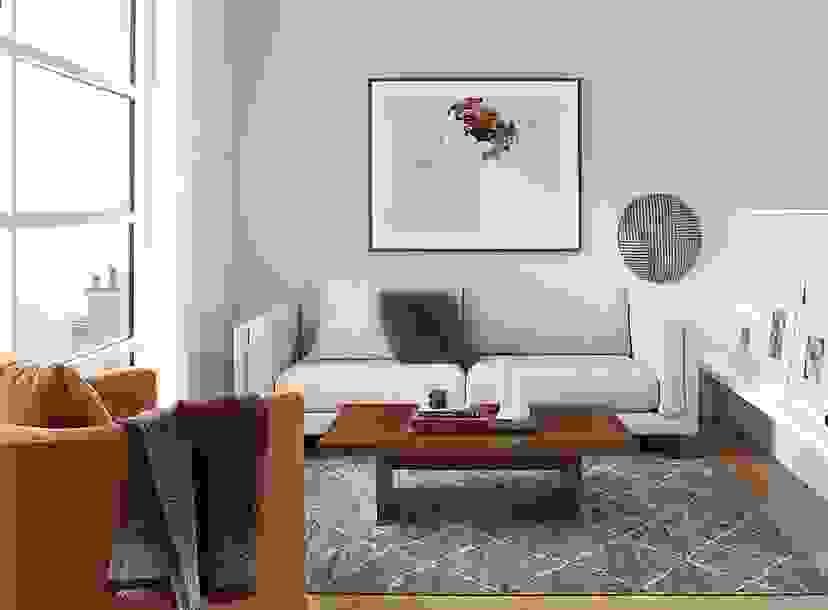 """Cade 81"""" Sofa Living Room"""