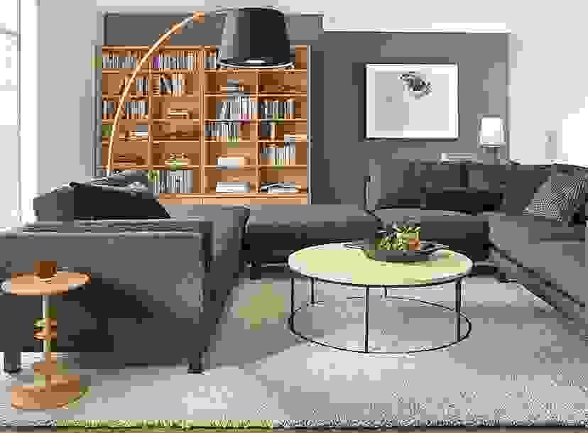 Keaton Bookcases in White Oak