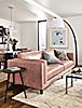 Cade Sofa in Vento Rosewood