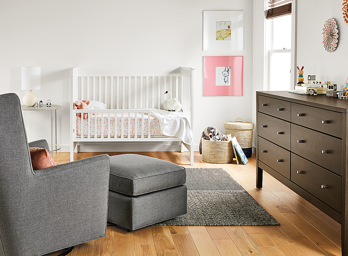 Nest Crib Converted to a Toddler Bed
