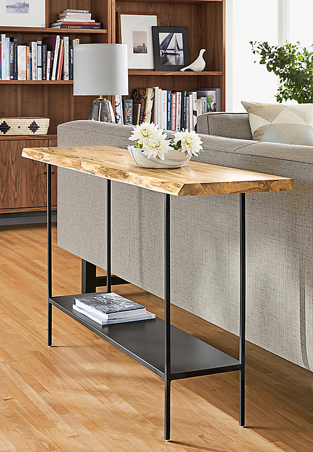 Chilton Console Table in Spalted Sugarberry