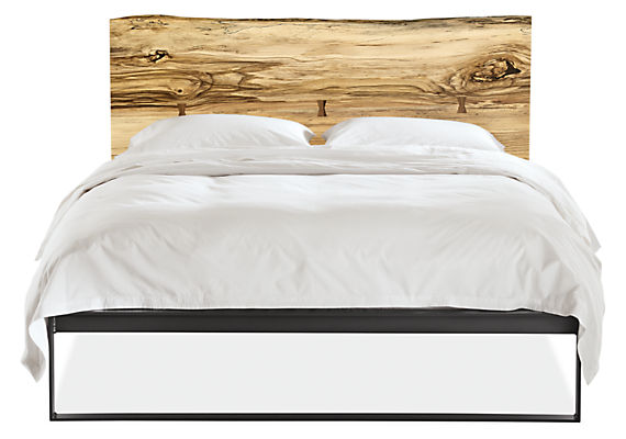 Detail silhouette of Chilton bed in sugarberry