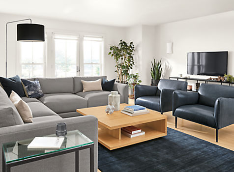 Clemens Extra Deep L-shape Sectional