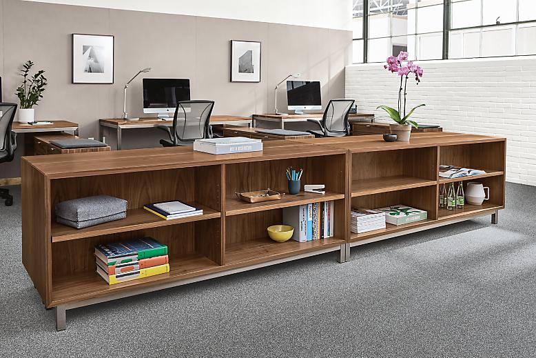 Copenhagen console bookcases in office