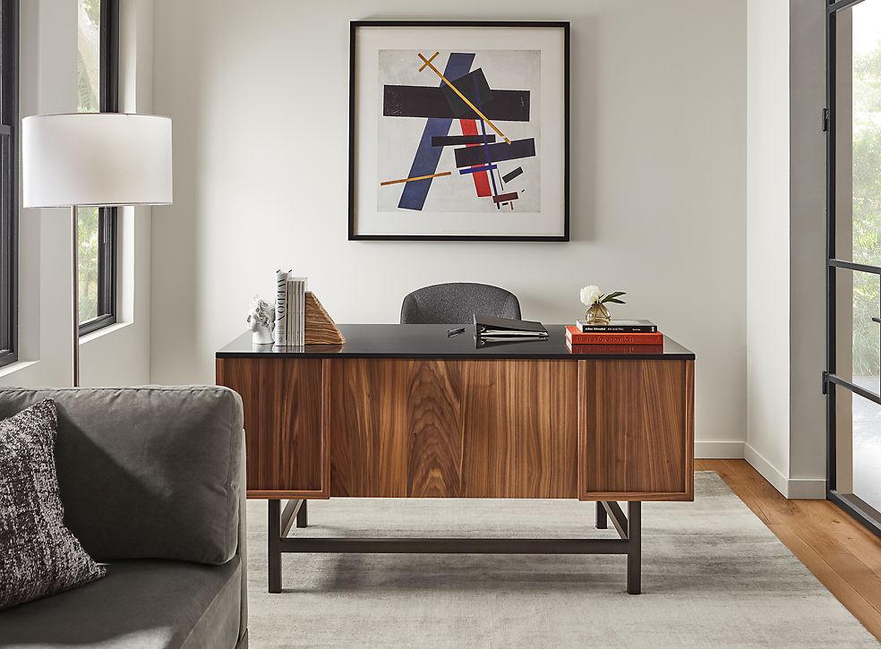 Copenhagen Desk in Walnut