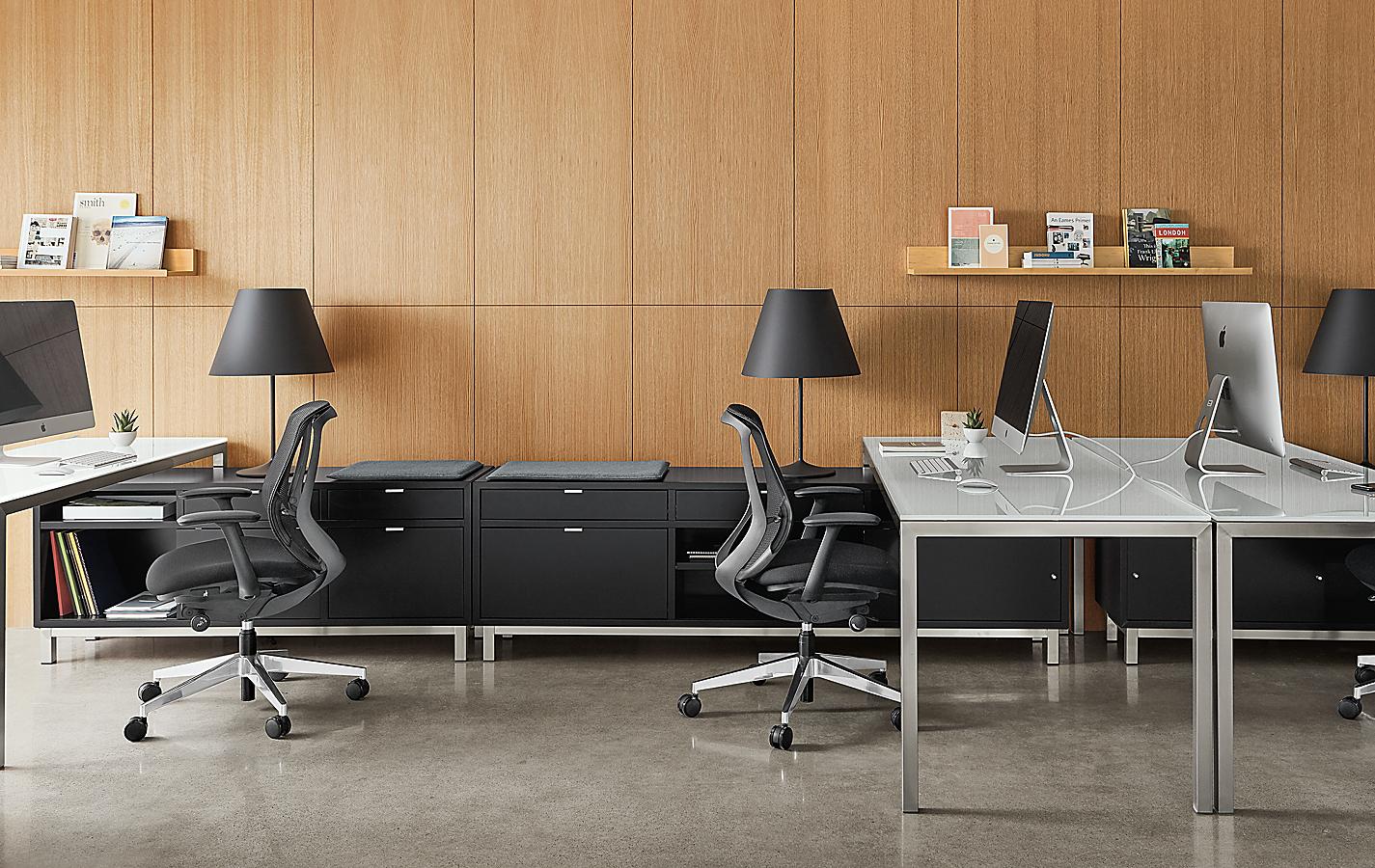 Copenhagen Benching System with Parsons Desks