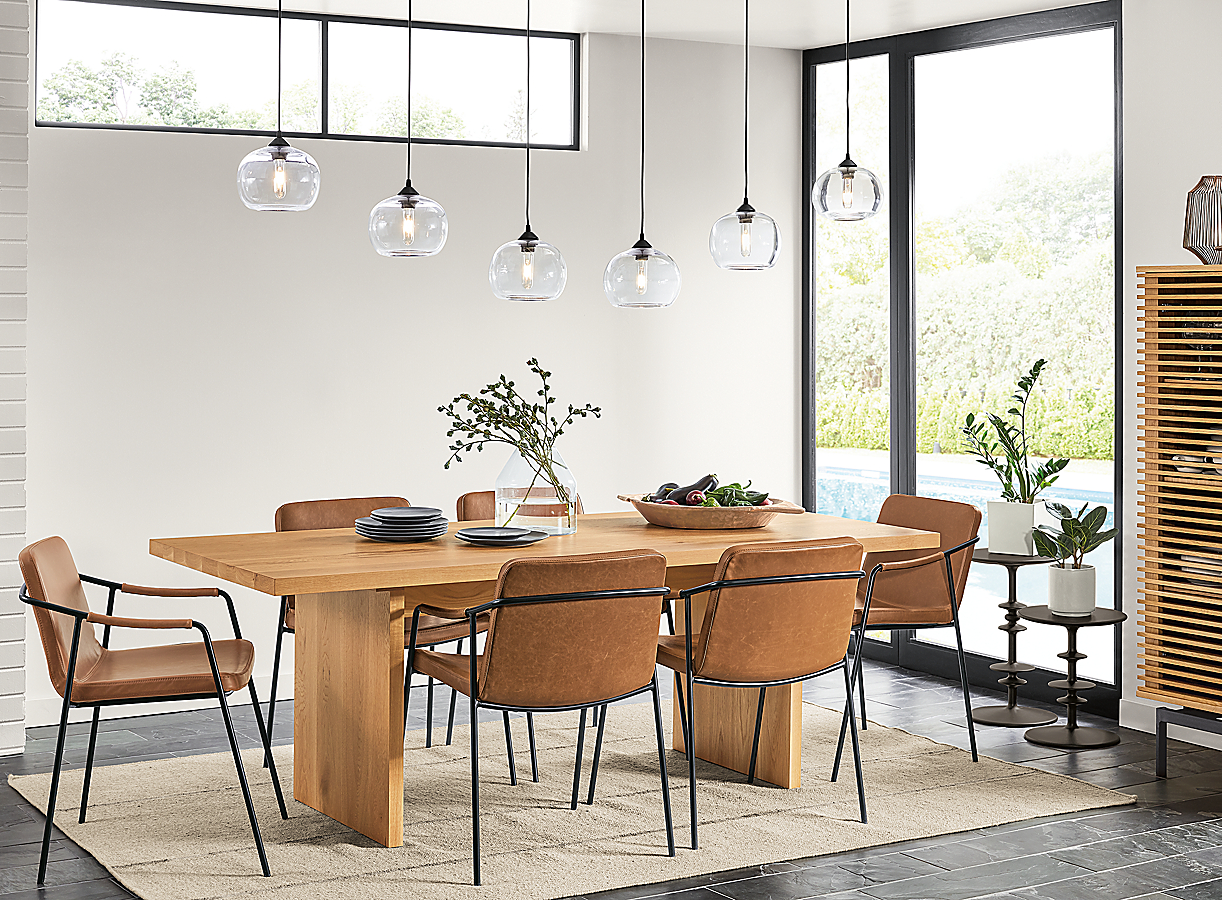 Corbett Dining Table with Mazie Chairs