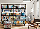 Dahl Bookcases in Charcoal