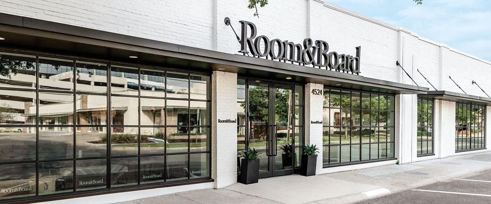 Room & Board Dallas is a modern furniture store in the greater Dallas area.