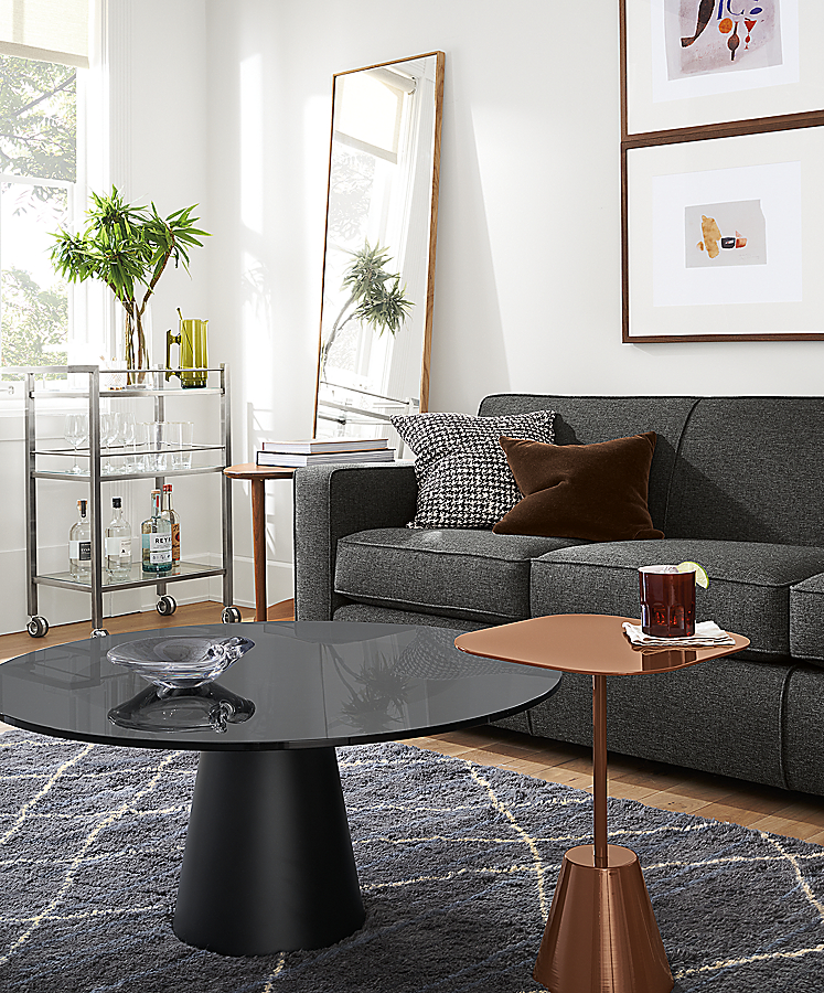 Decker and Helio Accent Tables