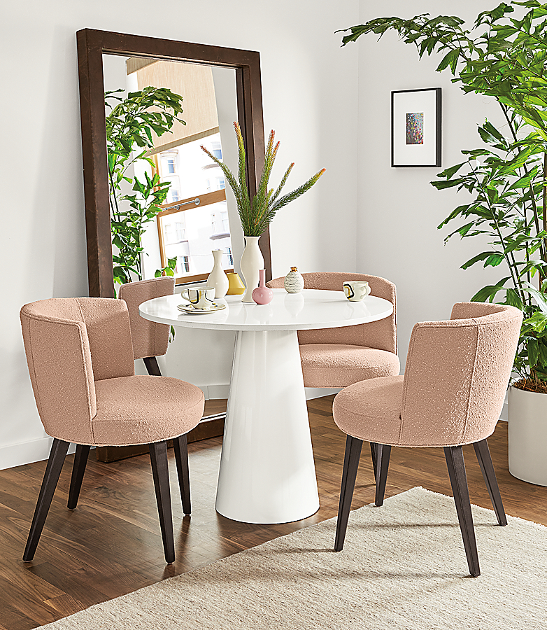 Decker Table with June Chairs