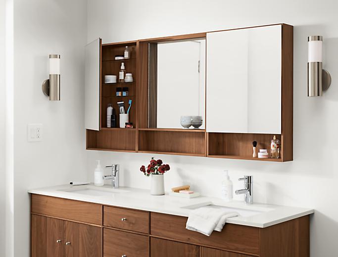 Modern Durant medicine cabinet set