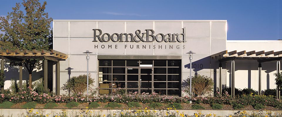 Room & Board Edina is a modern furniture store in Edina, across from The Galleria.