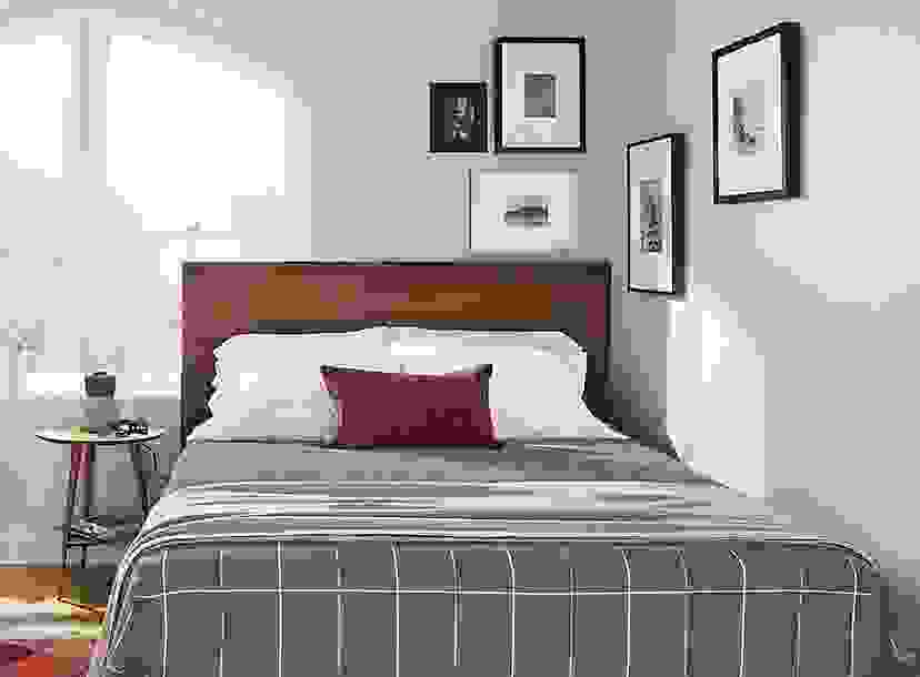 Bedroom Corner Frame Wall