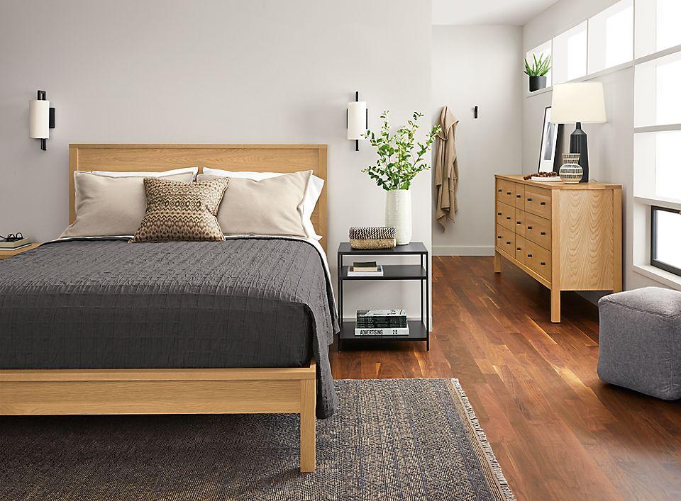 Emerson Bedroom In White Oak - Room & Board