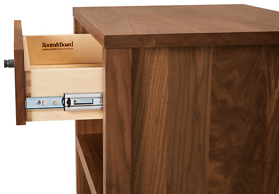 Detail of Emerson nightstand