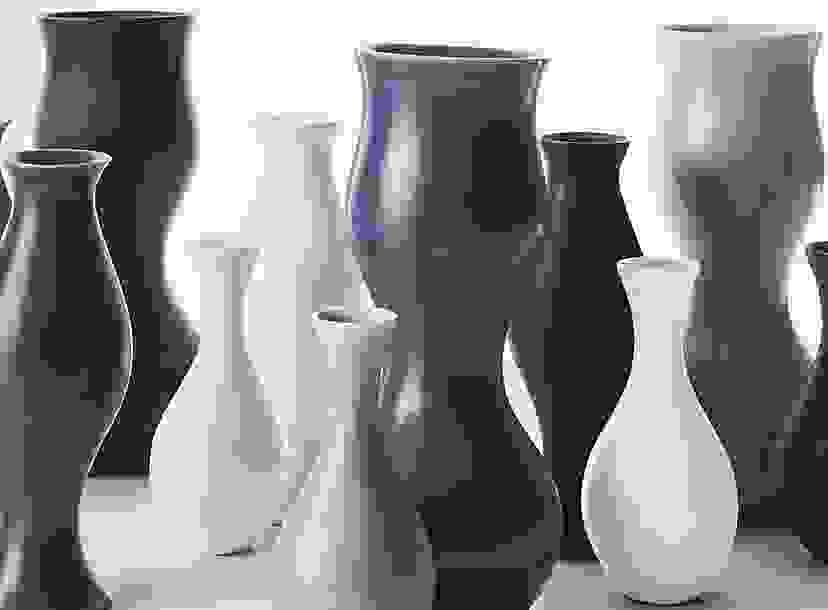 Eva Zeisel Upright Vases by KleinReid