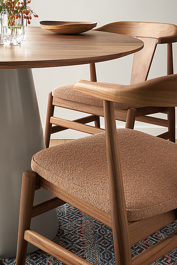 Decker Table with Evans Chairs, Scandinavian