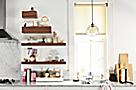 Float Wall Shelves Kitchen