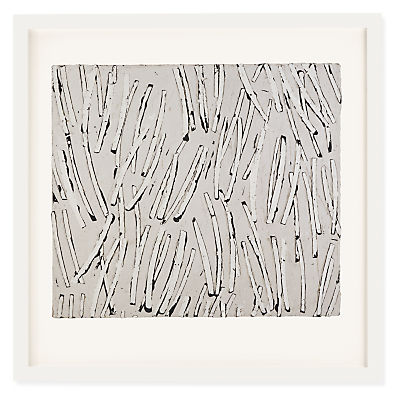 Front view of Antje Hassinger, Untitled 4, 2007 serigraph