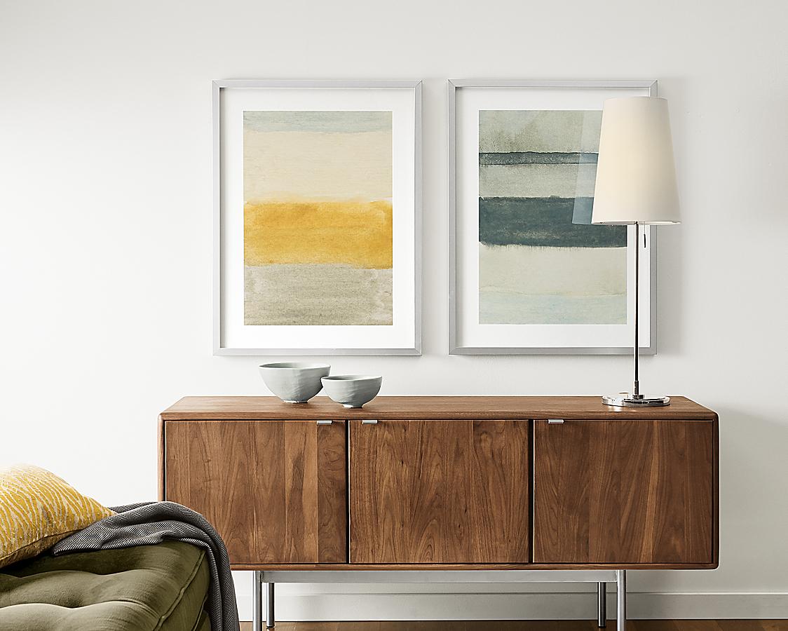 Valerie Francoise Framed Watercolors